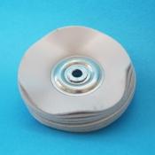 Spazzole centro metallo diam. 50 mm. cotone coagulato