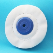 Spazzole diam. 100 mm. Centro plastica tela madapolan cucita